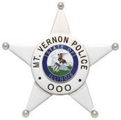 3.02 inch 5 Point Star Smith & Warren Police Badge MW5231