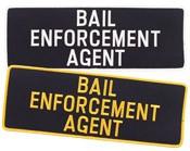 Large Bail Enforcement Agent Patch