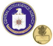 CIA Challenge Coin (Enameled)