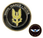 SAS (Who Dares Wins) Challenge Coin