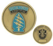 Special Forces Airborne Challenge Coin