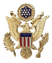 Eagle Lapel Pin (enameled)