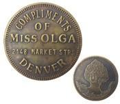 Miss Olga Cat House Token
