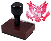 American Eagle Rubber Stamp