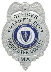 2.61 inch Eagle Top Smith & Warren Sheriff Badge S163