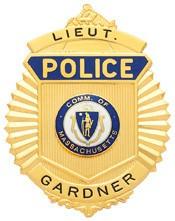 3.18 inch Sunburst Police Smith & Warren Badge S220