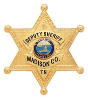 2.75 inch 6 Point Star Smith & Warren Sheriff Badge S254