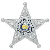 2.56 inch 5 Point Star Smith & Warren Badge S258A