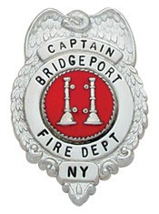 1.39 inch Eagle Top Smith & Warren Badge S268