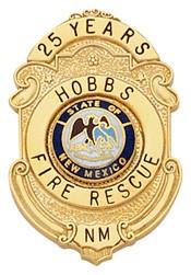 1.55 inch Smith & Warren Badge S294