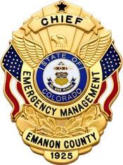3 inch Eagle Top Smith & Warren Badge S503