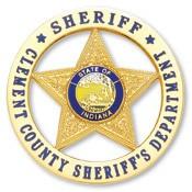 2.375 inch Round 5 Point Star Smith & Warren Badge S532