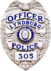 3.125 inch Eagle Top Smith & Warren Police Badge SB1901A