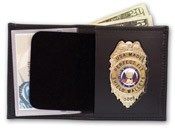 Deluxe Leather ID & Badge Case
