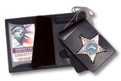 4 in 1 Dress Leather ID & Badge Case WAC051