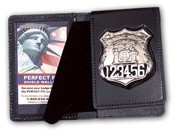 Duty Leather Flip Out Badge Case WAC052