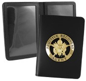 Double Window ID Case w/External Cutout
