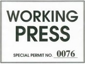 Working Press Windshield Pass