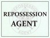 Repossession Agent Windshield Pass