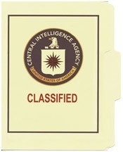 CIA Classified File Folder 5-Pack
