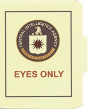 CIA Eyes Only File Folder 5-Pack
