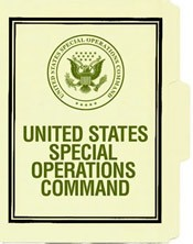 US Special Operations Command File Folder 5-Pack