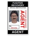 Fugitive Recovery Agent PVC ID Card BFP013