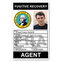 Fugitive Recovery PVC ID Card BFP016