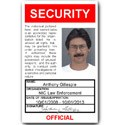 Security PVC ID Card