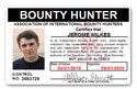 Bounty Hunter PVC ID Card C04PVC