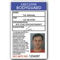 Executive Bodyguard PVC ID Card C05PVC