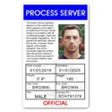 Process Server PVC ID Card C100PVC