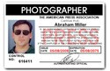 Press Photographer PVC ID Card