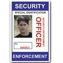 Security Enforcement Officer PVC ID Card C211PVC