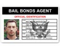 Bail Bonds Agent PVC ID Card