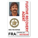 Fugitive Recovery Agent PVC ID Card C501PVC