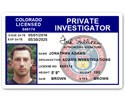 Private Investigator PVC ID Card C503PVC
