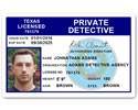 Private Detective PVC ID Card C510PVC