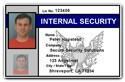 Internal Security PVC ID Card