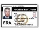 Fugitive Recovery PVC ID Card C518PVC