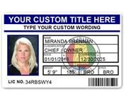 Corporate PVC ID Style #5