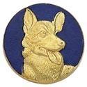 K-9 Dog Center Seal