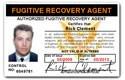 Fugitive Recovery Agent PVC ID Card C68PVC