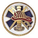Fireman Hook & Ladder Center Seal