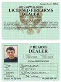 Firearms Dealer Classic Folio