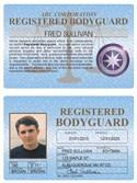 Registered Bodyguard Standard Folio