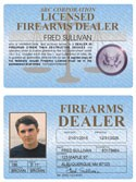 Firearms Dealer Standard Folio
