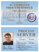 Process Server Standard Folio