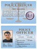 Police Officer Standard Folio