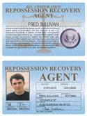 Repossession Recovery Agent Standard Folio